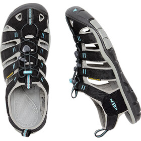 Keen Clearwater CNX sandaalit Naiset, black/radiance